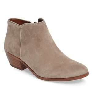 Sam Edelman Petty Chelsea Suede Booties NEW $130